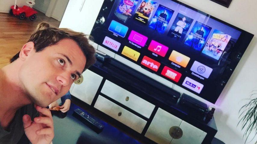 """Wo ist Angelina? Rocco macht DVD-Abend """"zu zweit"""""""