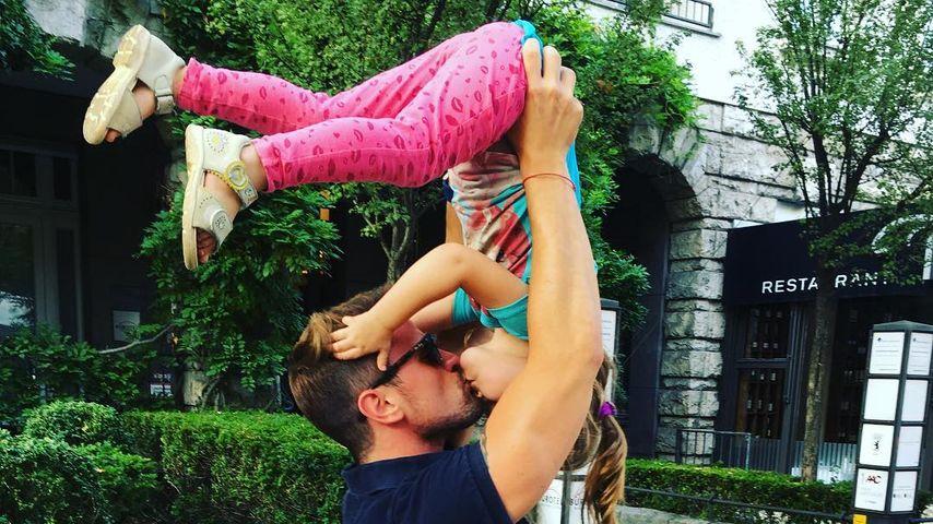 Rocco Stark mit Tochter Amelia Stark