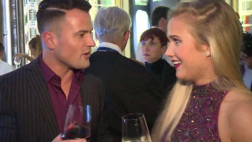 """Rocco Stark mit Michelle bei der Premiere der """"The One Grand Show"""""""