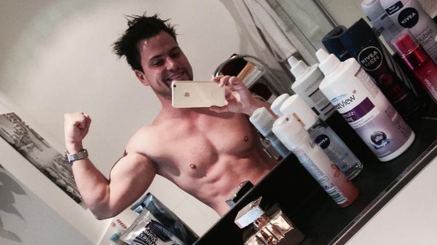 1 Monat Work-out: Rocco Stark zeigt seine sexy Muskeln