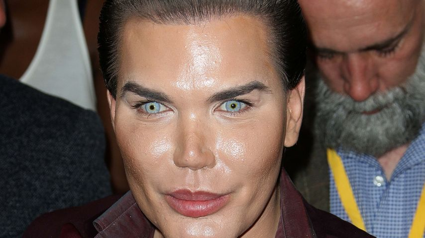 Rodrigo Alves bei der London Fashion Week