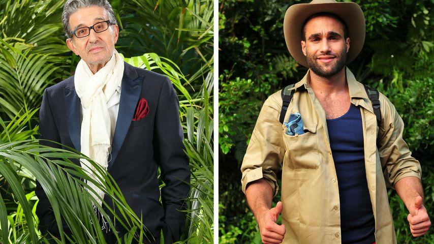 Dschungel-Überraschung! Rolf Zacher & David Ortega sind raus