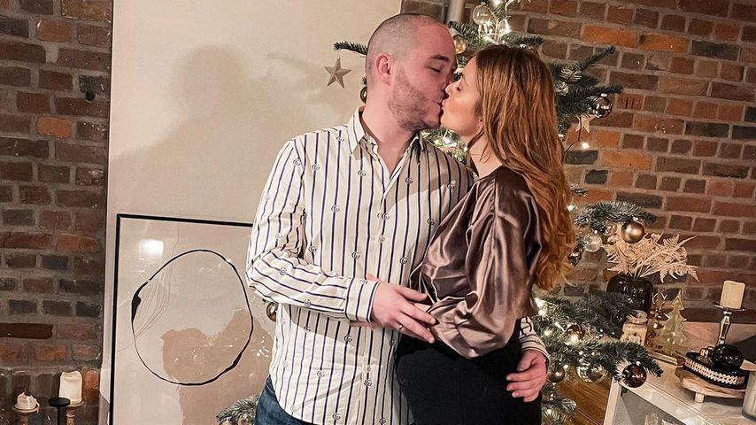 Roman und Vanessa Tamkan im Dezember 2020