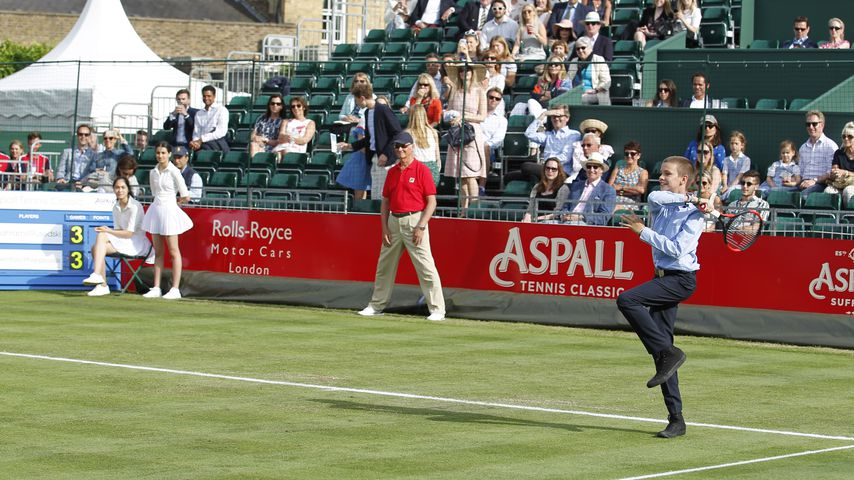 Romeo Beckham beim Aspall Tennis Classics im Hurlingham Club