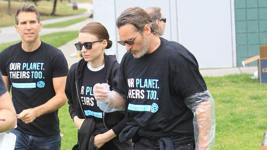Rooney Mara und Joaquin Phoenix