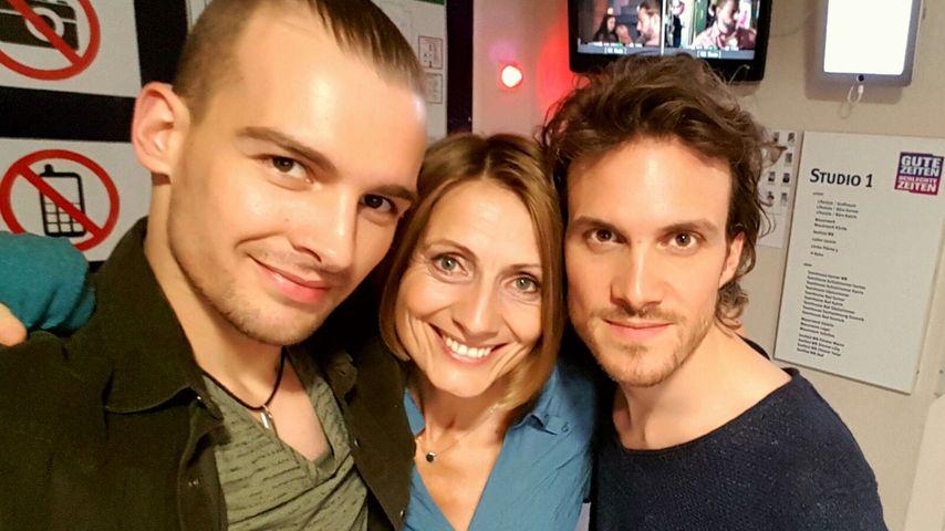 Chris Lehmann (Eric Stehfest), Rosa (Joana Schümer) und Felix (Thaddäus Meilinger)