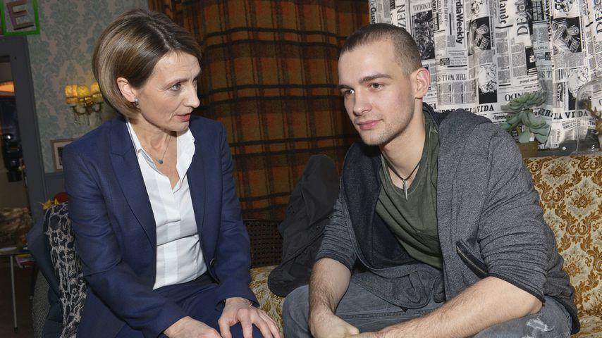 Rosa (Joana Schümer) und Chris (Eric Stehfest) bei GZSZ