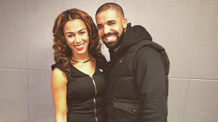 Rosalyn Gold-Onwude und Drake im Dezember 2015