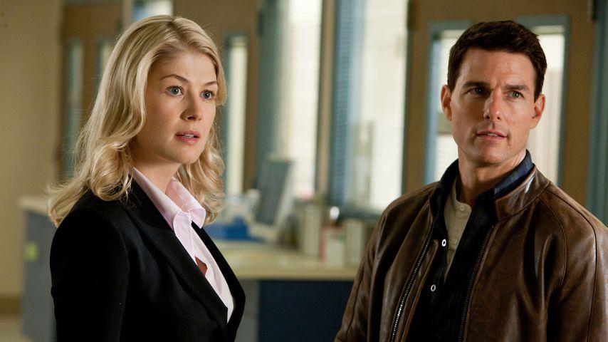 """Rosamund Pike und Tom Cruise in """"Jack Reacher"""""""
