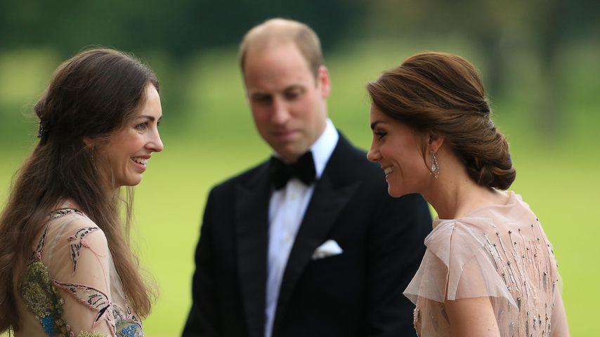 Rose Hanbury, Prinz William und Herzogin Kate im Jahr 2016