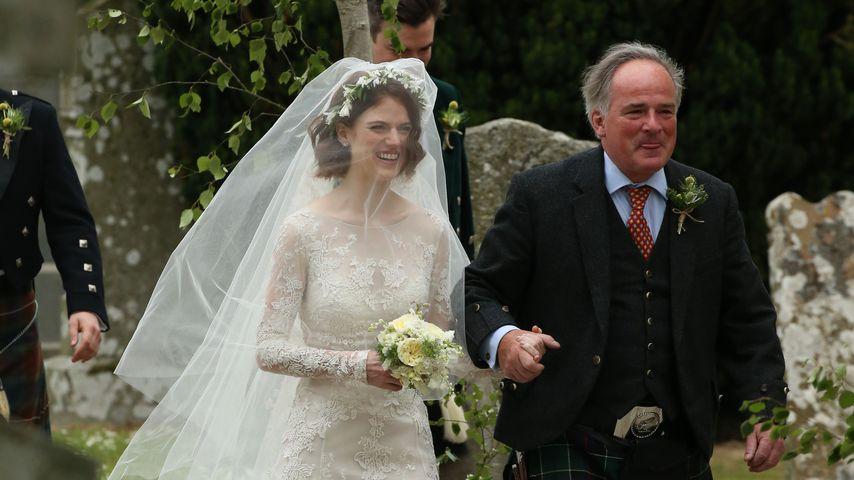 Rose Leslie auf dem Weg zu ihrer Hochzeit