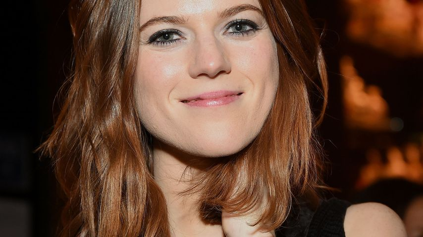 """Game of Thrones""-Star Rose Leslie mit Babybauch unterwegs"
