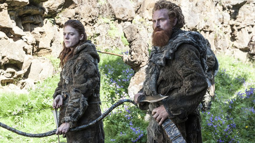 "Rose Leslie und Kristofer Hivju in ""Game of Thrones"""
