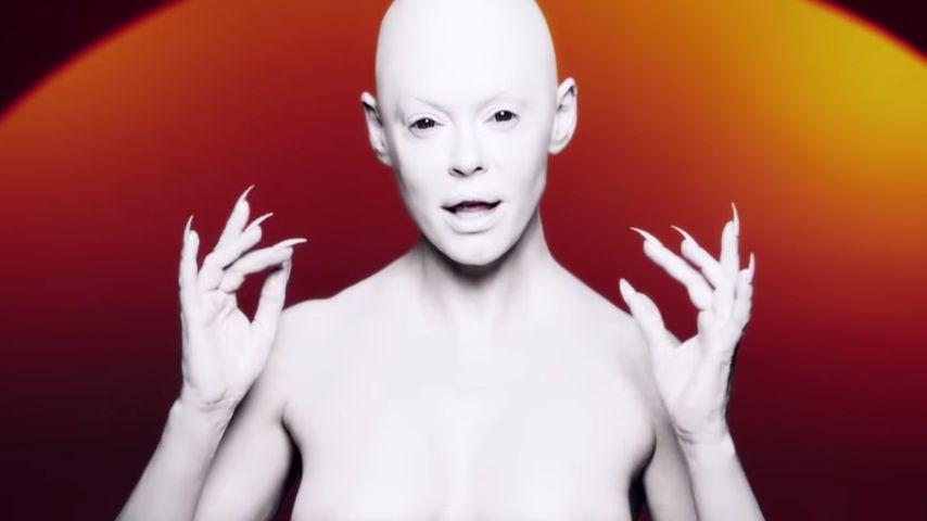 Krasses Musikvideo: Ist Rose McGowan die neue Lady Gaga?