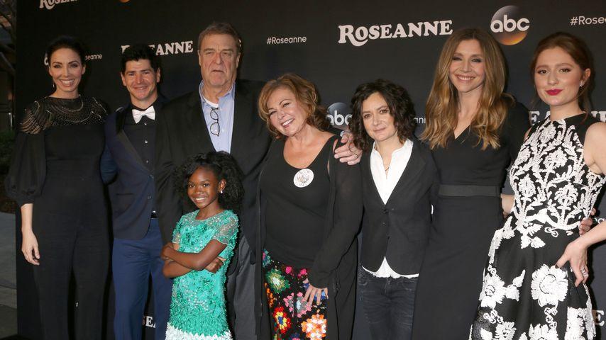 """""""Roseanne""""-Cast bei der Premiere in März"""