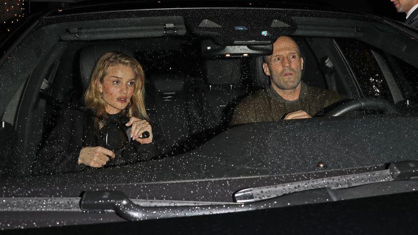 Rosie Huntington-Whiteley und Jason Statham im März 2020