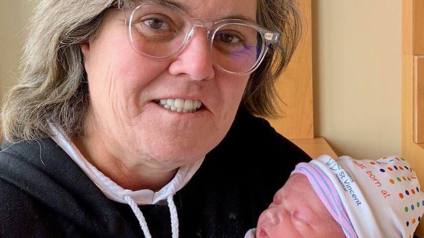 Rosie O'Donnell mit ihrer Enkelin Skylar