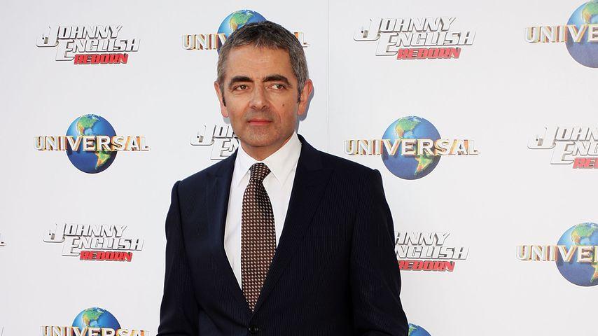"""Rowan Atkinson bei der Premiere von """"Johnny English Reborn"""""""