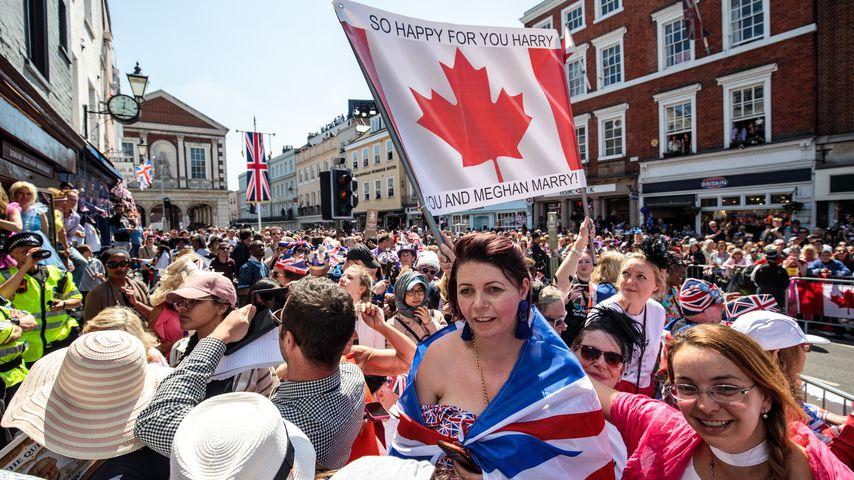 Royal-Fans in Windsor 2018