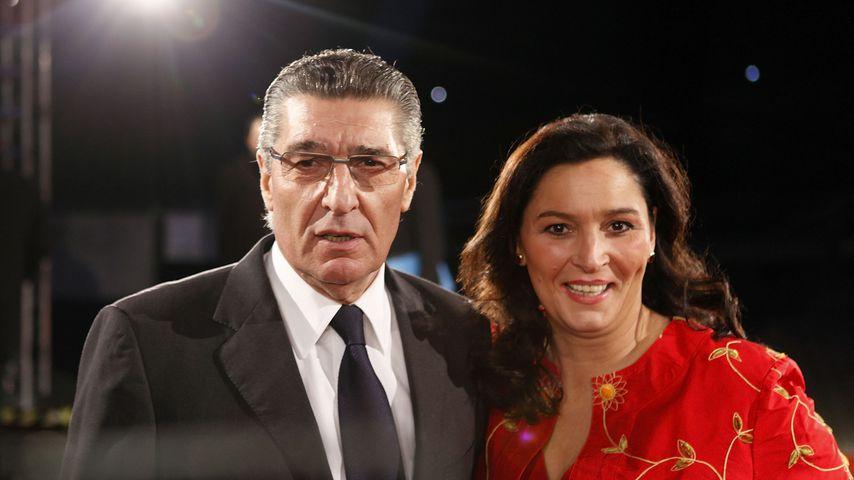 Rudi Assauer und  Bettina Michel  im Dezember 2009