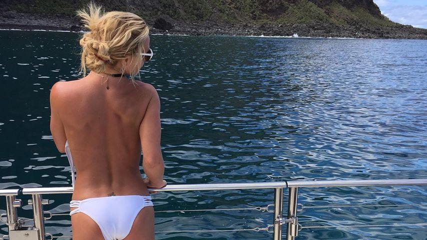 Britney Spears auf Hawaii