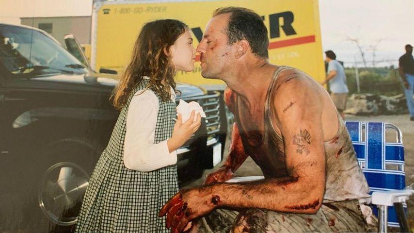 Rumer Willis teilt süßes Throwback-Bild mit Papa Bruce