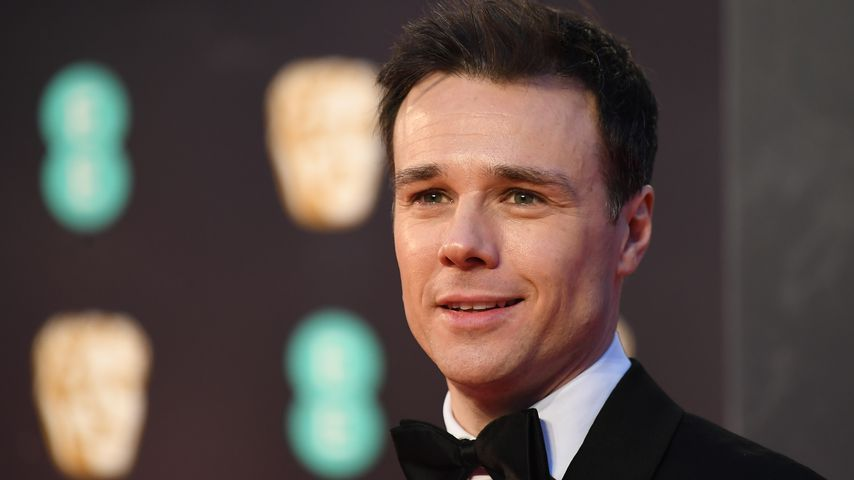 Rupert Evans bei den British Academy Film Awards 2017