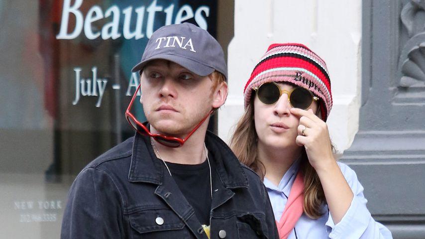 Rupert Grint mit Freundin Georgia Groome in New York