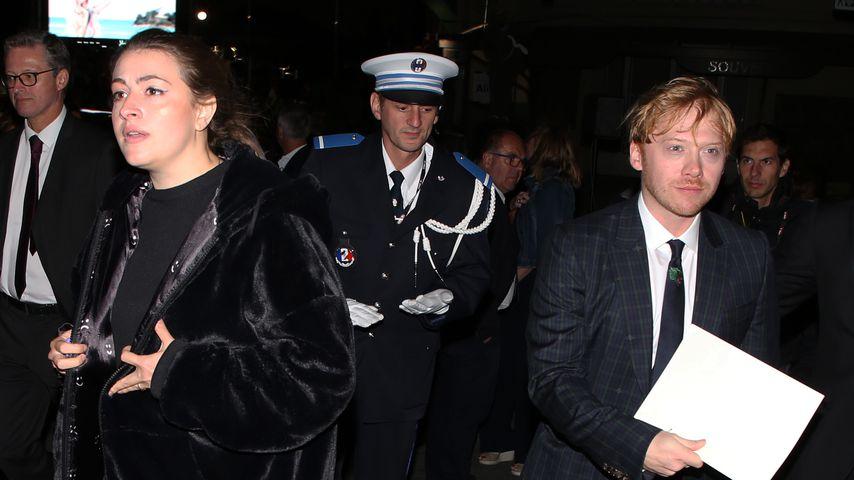 Georgia Groome und Rupert Grint beim Dinard Film Festival