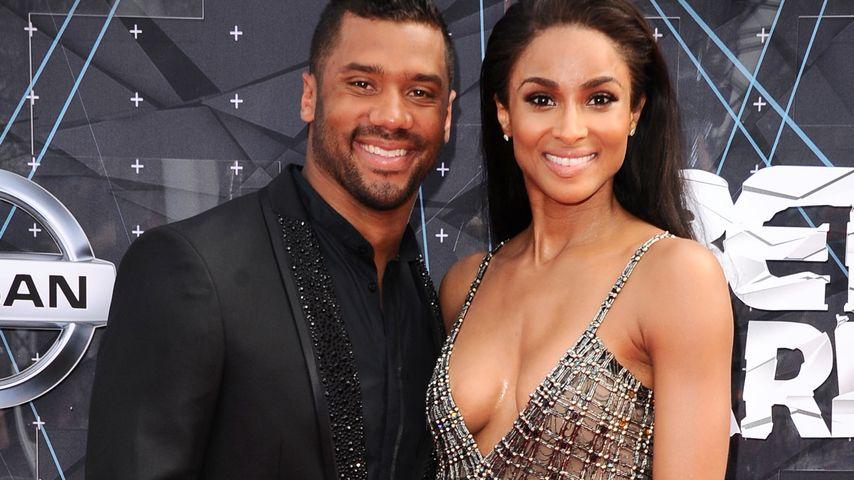 Liebes-Krise? Ciara und ihr Russell strahlen Gerüchte weg