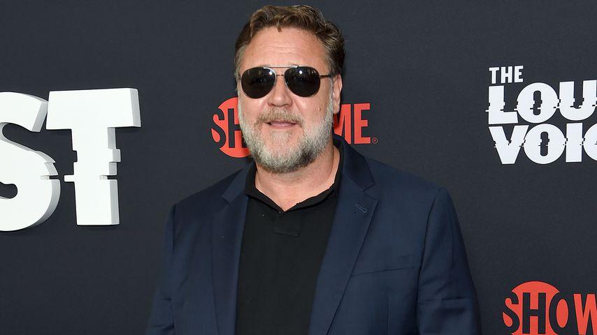 """Russell Crowe bei der Premiere von """"The Loudest Voice"""""""