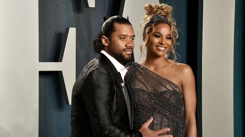 Russell Wilson und Ciara bei der Vanity Fair Oscar Party