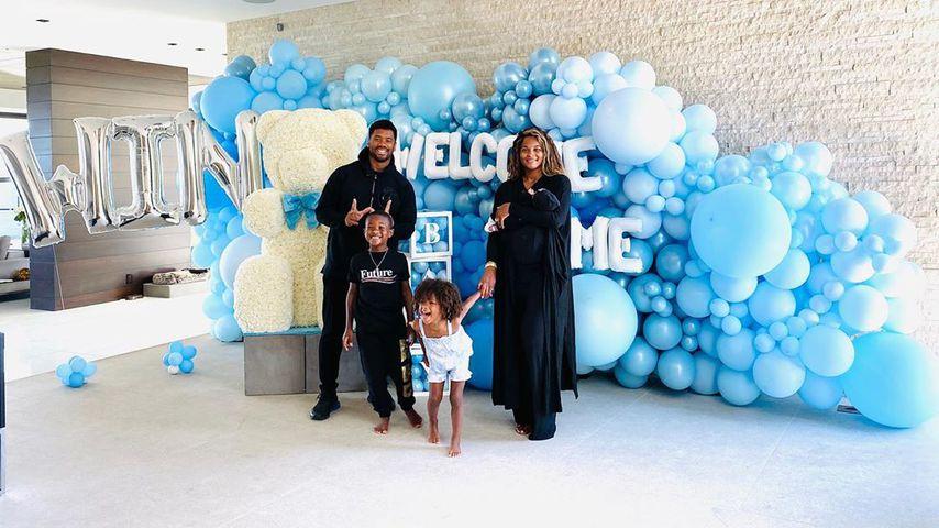 Fette Eis-Party: Ciara und ihr Baby dürfen nach Hause