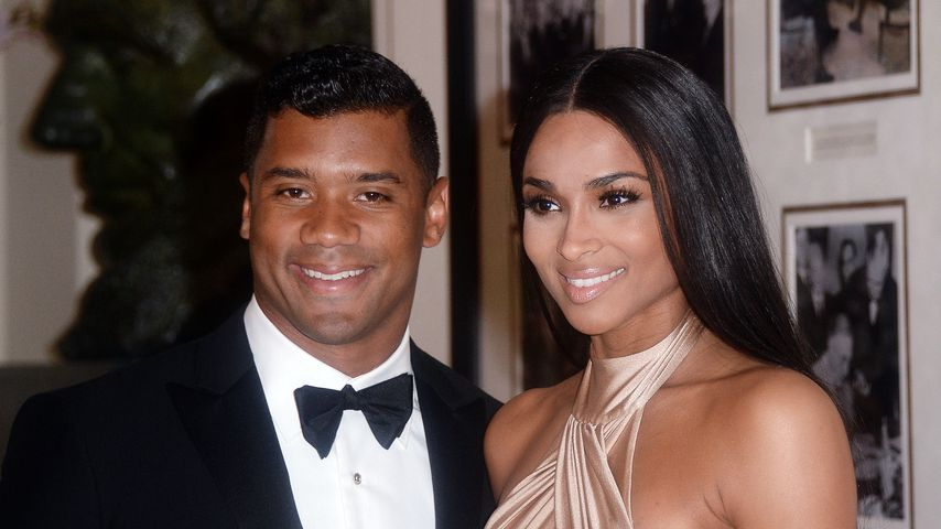 Russell Wilson und Ciara im April 2015
