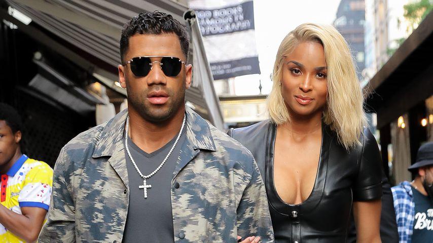 Russell Wilson und Sängerin Ciara, Juni 2021