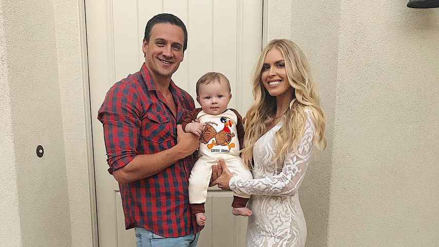 Ryan Lochte und Kayla Rae Reid mit Sohn Caiden