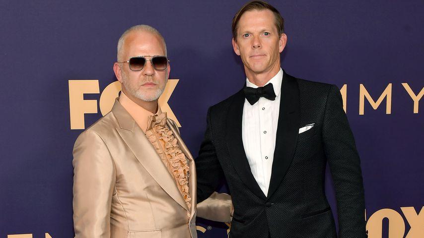 Ryan Murphy und David Miller bei den Emmy Awards, 2019