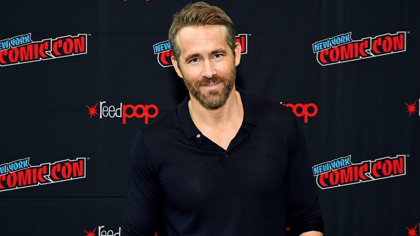 Ryan Reynolds in New York City, 2019