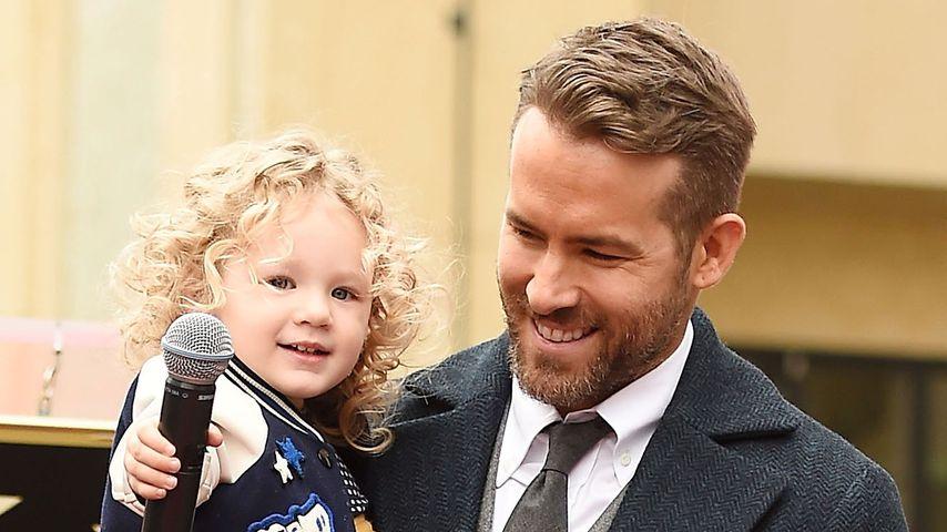 Ryan Reynolds mit Tochter James auf dem Red Carpet