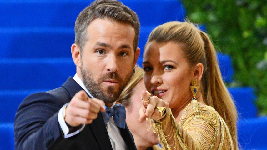 Ryan Reynolds und Blake Lively auf der Met Gala in New York