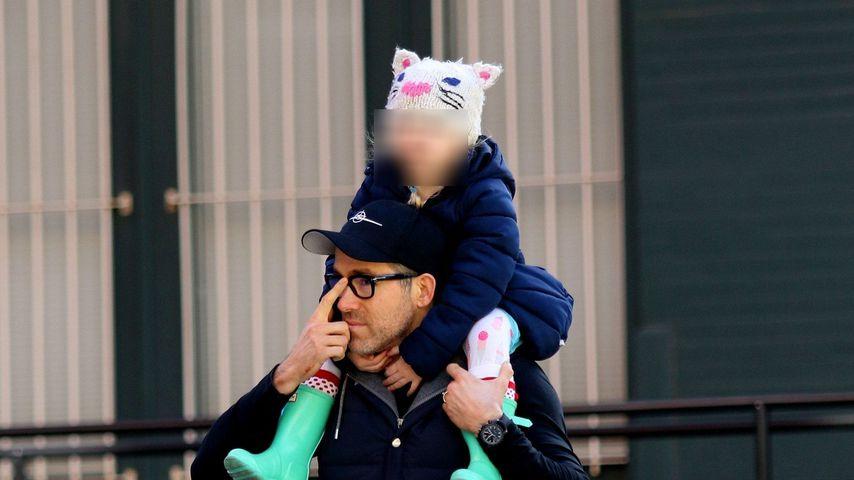 Ryan Reynolds und Tochter James in New York
