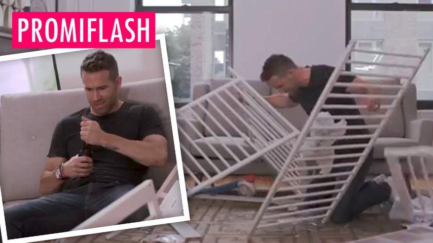 Ryan Reynolds verzweifelt an IKEA