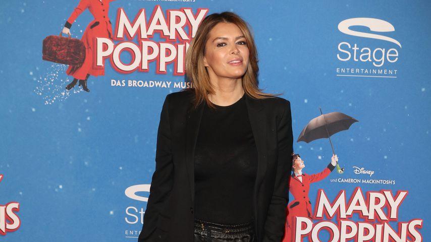 """Sabia Boulahrouz bei der Premiere des Musicals """"Mary Poppins"""" in Hamburg"""