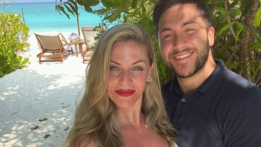 Sabrina und Mehmet, 2021 auf den Malediven