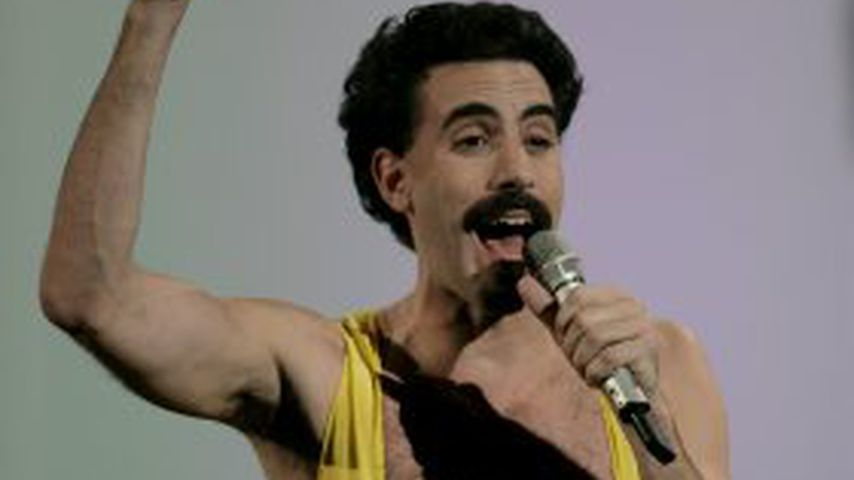 Sacha Baron Cohen als Borat bei den MTV Europe Music Awards 2005 in Portugal