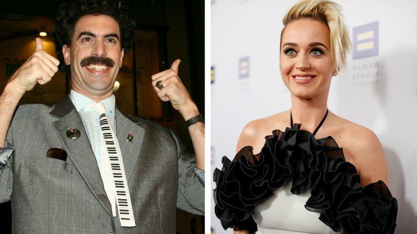 So witzig gratulierte Borat Katy Perry zu ihrem Geburtstag!