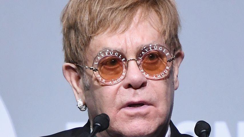 Sänger Elton John bei einer Veranstaltung der Elton John AIDS Foundation in New York City 2017