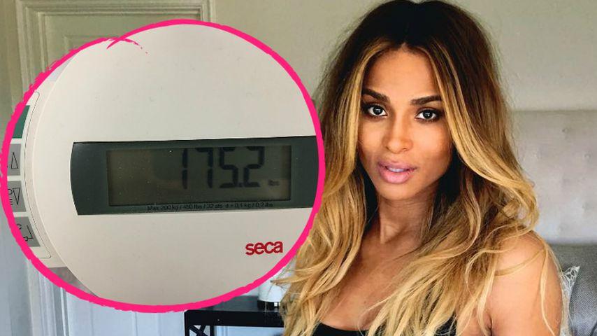 Ciara im Abnehm-Wahn: Schon wieder 4 Baby-Kilos weniger!