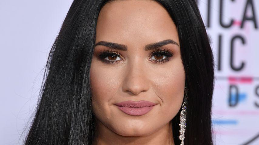 Sängerin Demi Lovato bei den American Music Awards 2017 in Los Angeles