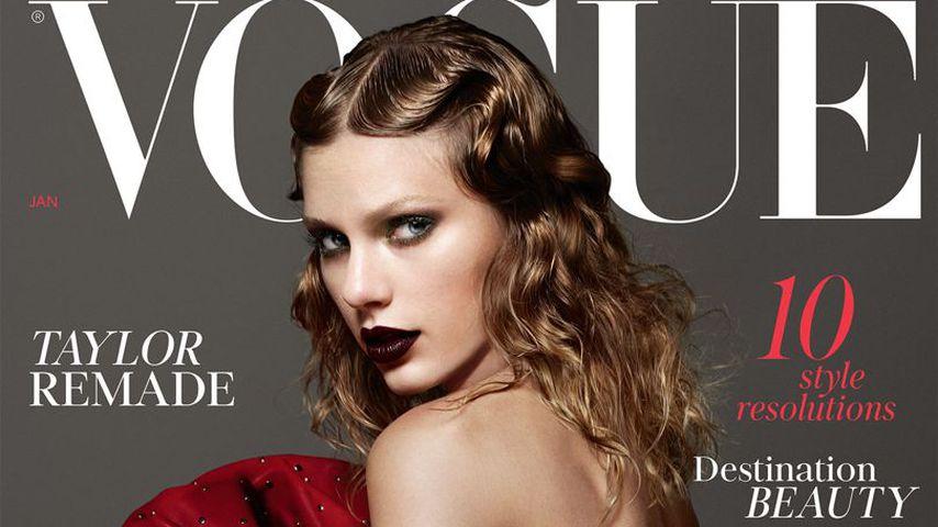 Höhepunkt ihres Wandels? TayTay als Vamp auf Vogue-Cover!